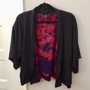H&M Black Kimono XS/SM
